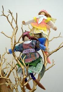 DSC_0508 felted fairies by Margaret Dwyer, of Wilmot, nh