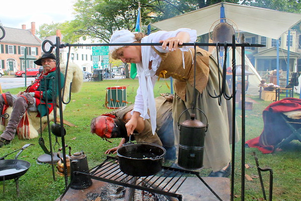 Revolutionary War Encampment at NWPL