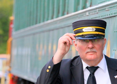 IMG_4700 Brian McGregor, guest representitive, fixing his hat