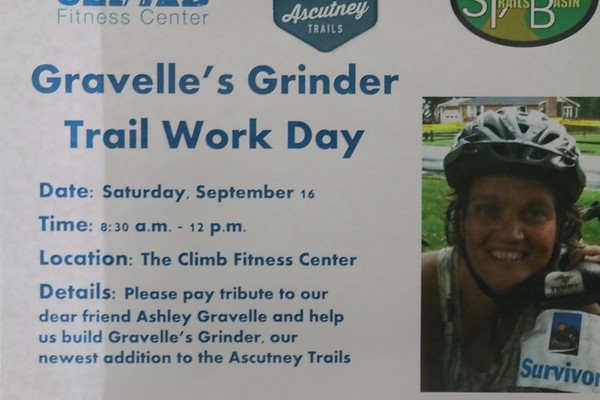Gravelle's Grinder Trail Work Day,  Ascutney Trails