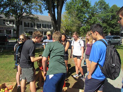 Dartmouth Outing Club experiences making cider
