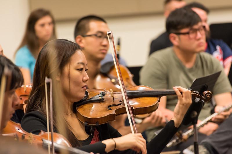 Festival Napa Valley Academy Orchestra Rehearsals