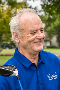 Bill Murray Golfing at Silverado Country Club with Festival Napa Valley Auction Lot Winners