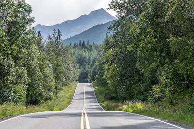 Another photo of Knik River Road.  Not edited well.  Need to take out power lines.