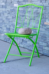 Rock 'n Chair-sidewalk