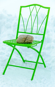 Rock 'n Chair- Snow 2