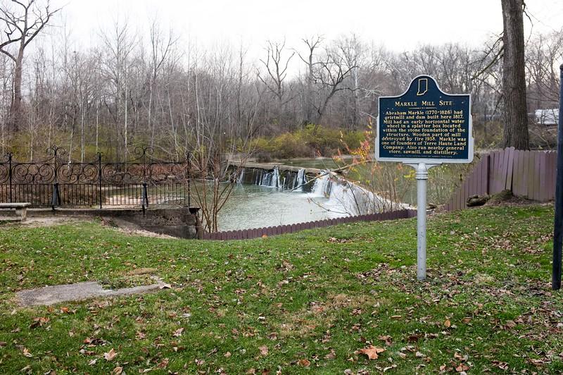 Vigo County Parks Markle Mill Park Dam