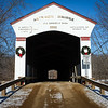 Jackson Bridge Parke County Sugar Creek Winter Covered Bridge