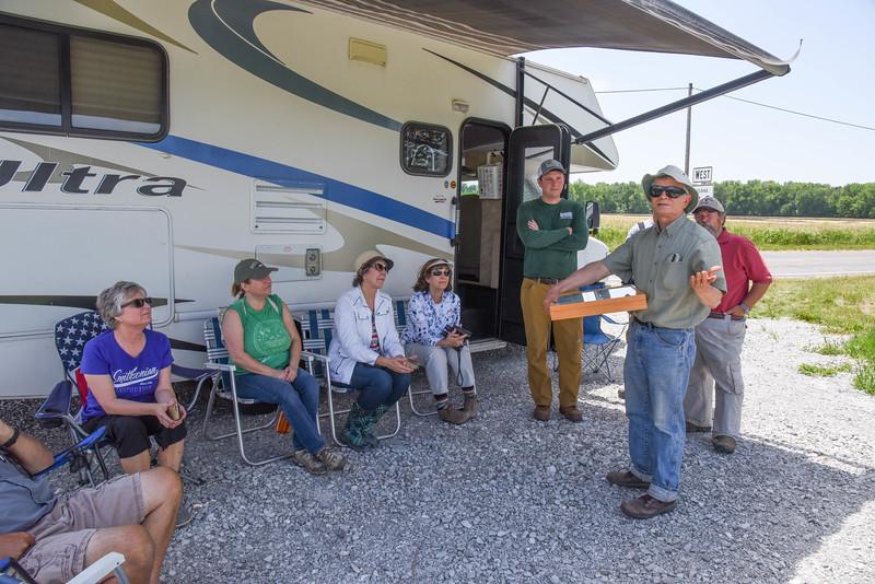 HRI Field Day Jim Nardi Parke County