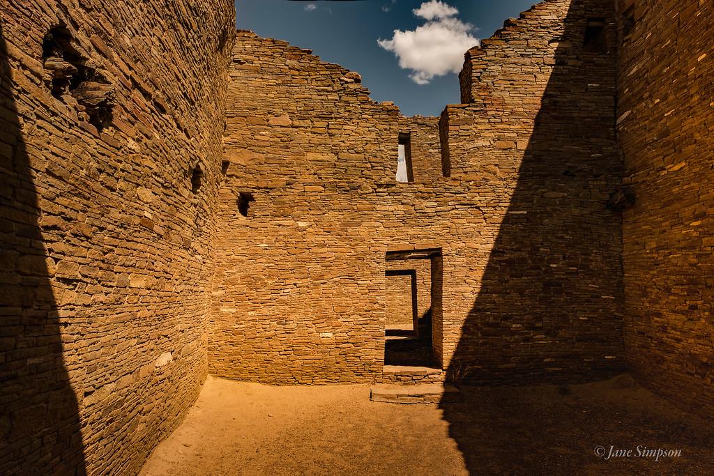 Pueblo Bonito: 4-5 stories high; amazing construction
