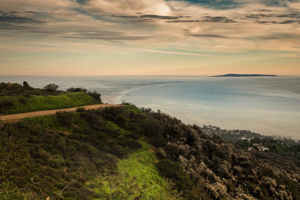 Green Green and Calm Ocean
