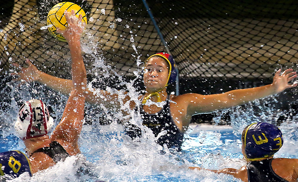 . Soquel girls CCS semi-final water polo match against Sacred Heart Prep at St. Francis High School in Mountain View
