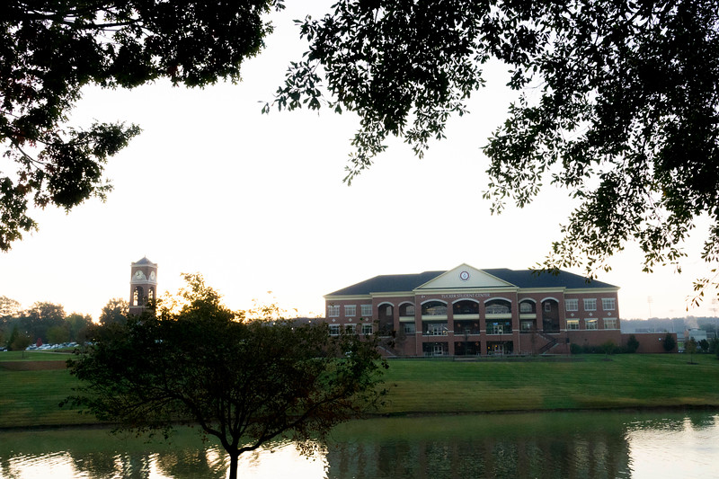 GWU campus fall