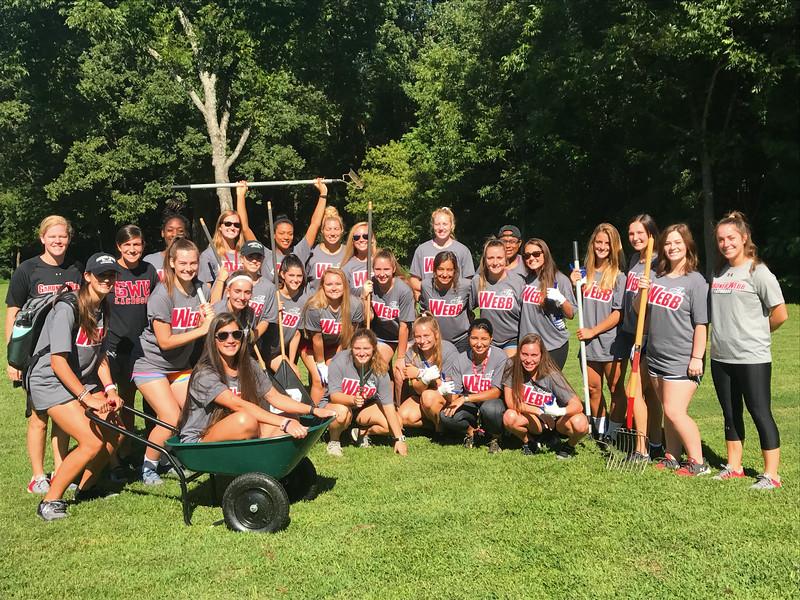 GWU Lacrosse Team 2017