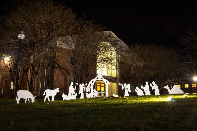 GWU Christmas Lights 2017