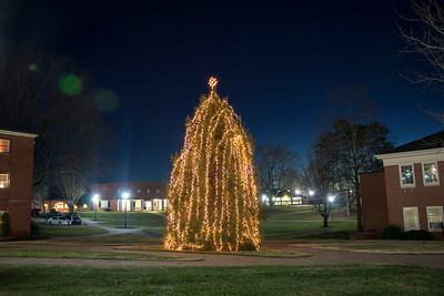 GWU Christmas Lights 2017