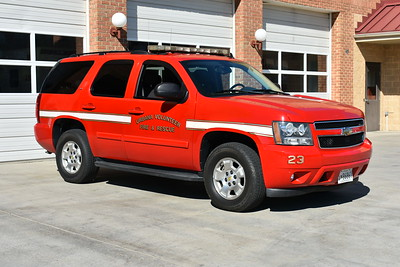 Chief 23 from Urbana, Maryland (Frederick County) is a 2008 Chevrolet Tahoe.