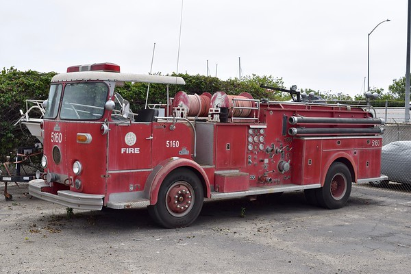 Former Los Angeles City Engine 5160, 19?? Crown CP 125 109, 1250/?, sn- F1455.