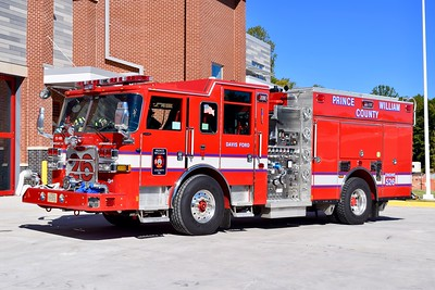 Engine 526 from the Davis Ford station is this 2016 Pierce Arrow XT, 1500/750/40/40, sn: 30389-01.  Photographed at the brand new Station 26, a day after entering into service.  This engine was delivered as part of a 5 unit order.