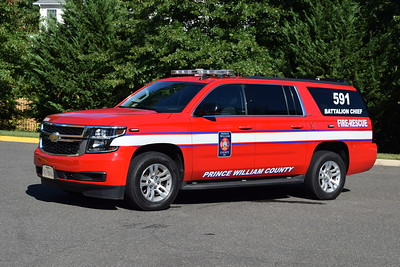 Battalion Chief 591/501 is a 2015 Chevrolet Suburban/FastLane.    BC 591 runs from FS 24.