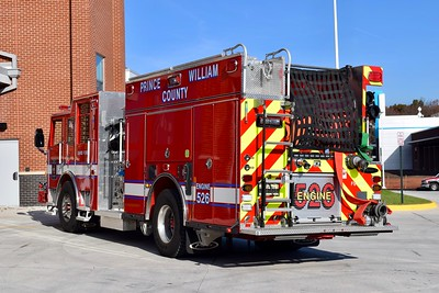 Rear view of Engine 526.