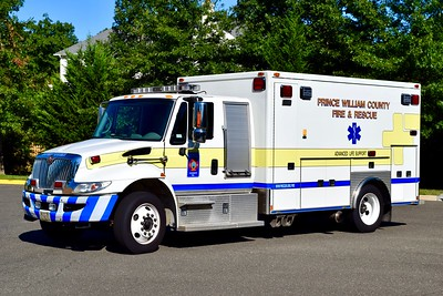 Medic 524B is a County reserve unit, this 2008 International 4300/MedTec is former M524.  ex- Gainesville District VFD