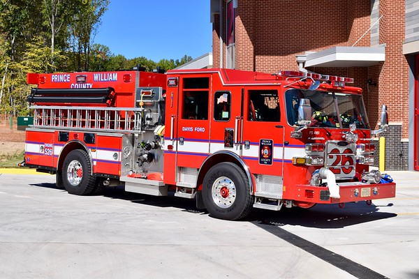 An officer view of Engine 526.