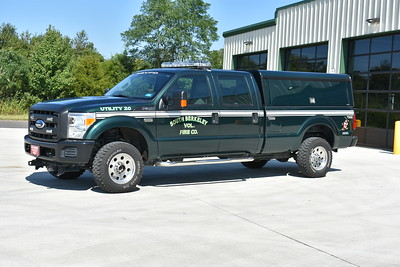 Utility 20 at South Berkeley was originally the department's brush truck.  The decision was made to remove the brush skid package and have the truck be the department's utility.  It is a 2010 Ford F350 4x4 and was originally donated by W. Randy Smith to the department.  The brush to utility change was completed in 2017.
