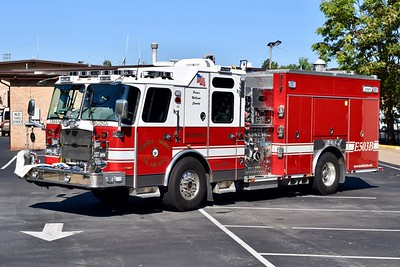 Engine 503B is a 2014 E-One Cyclone II, 1500/750/40/40, sn- 138290.