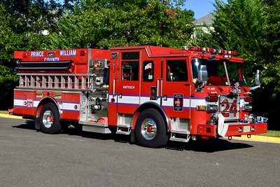 An officer view of Engine 524.