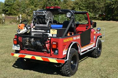 The rear of Brush 4 of Hanover County, VA - Doswell.