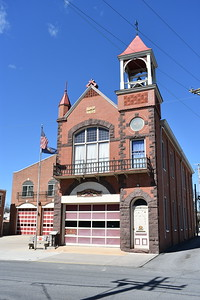 Another view of Carlisle's Union Fire Company No. 1 and the old firehouse built in 1888 and is a museum today.