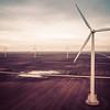 The windmills in Tippecanoe County near Purdue University