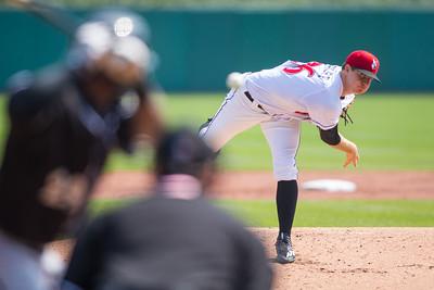 Tyler Eppler pitching (Dave Wegiel/MiLB.com)
