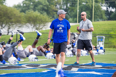 Indiana State football opens up their 2017 with their first practice
