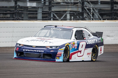 William Byron of JR Motorsports Qualifies for the Lilly Diabetes 250 at the Indianapolis Motor Speedway (Dave Wegiel)