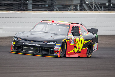 Ryan Sieg Qualifies for the Lilly Diabetes 250 at the Indianapolis Motor Speedway (Dave Wegiel)