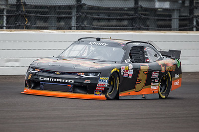 Michael Annett of JR Motorsports Qualifies for the Lilly Diabetes 250 at the Indianapolis Motor Speedway (Dave Wegiel)