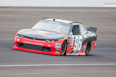 Ben Kennedy Qualifies for the Lilly Diabetes 250 at the Indianapolis Motor Speedway (Dave Wegiel)
