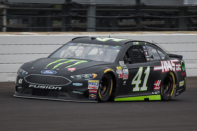 Kurt Busch of Stewart-Haas Racing practices before the 2017 Brantley Big Machine Brickyard 400 (Dave Wegiel)
