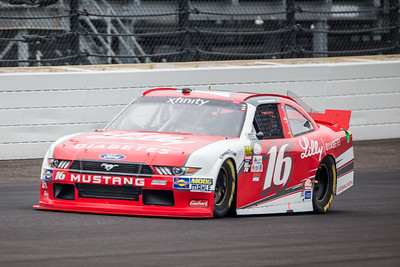Ryan Reed of Roush Fenway Racing Qualifies for the Lilly Diabetes 250 at the Indianapolis Motor Speedway (Dave Wegiel)
