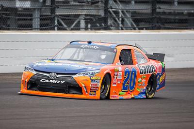 Erik Jones of Joe Gibbs Racing Qualifies for the Lilly Diabetes 250 at the Indianapolis Motor Speedway (Dave Wegiel)