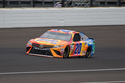 Matt Kenseth of Joe Gibbs Racing practices before the 2017 Brantley Big Machine Brickyard 400 (Dave Wegiel)