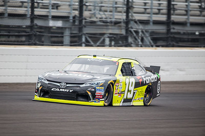Matt Tifft of Joe Gibbs Racing Qualifies for the Lilly Diabetes 250 at the Indianapolis Motor Speedway (Dave Wegiel)