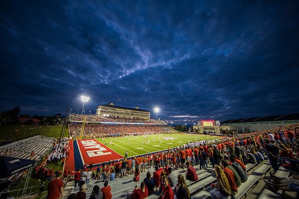 Blue Hour at Williams Stadium