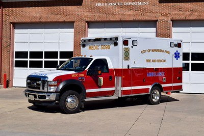 Medic 509B is a 2009 Ford F-450/PL Custom.