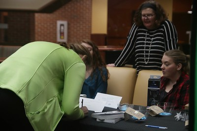Students at the party got the chance to enter multiple raffles in hopes of winning prizes such as a Kavu bag, the Eos Dawn Series, dinner for 2 at Applebees, Bluetooth Headphones, etc.