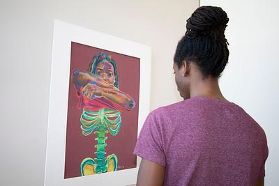 Kayin Mujahid, art gallery