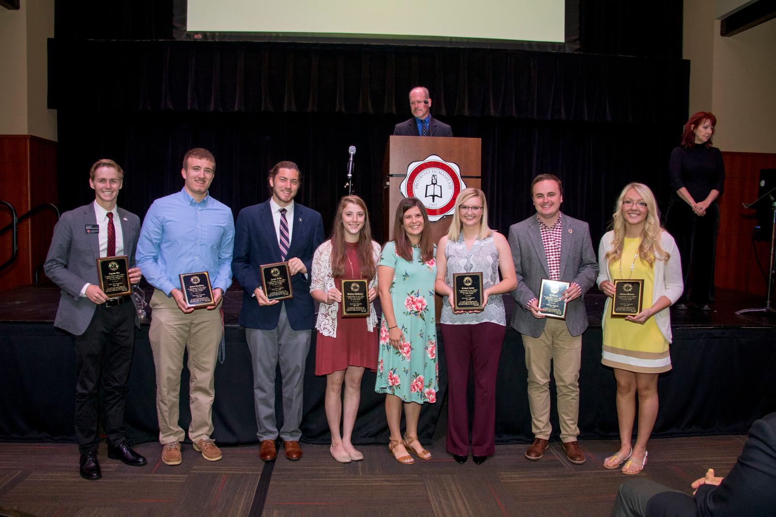 Student Leadership, Service and Volunteerism Recognition Program April 2017