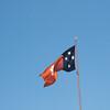 Northern Territory flag, Alice Springs, Northern Territory, Australia